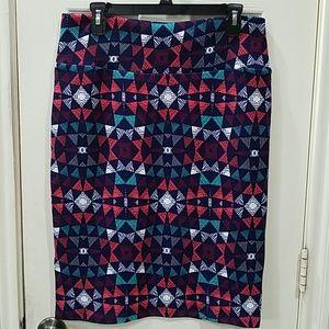 Lularoe Cassie skirt size L